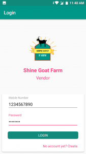 Shine Goat farm android app