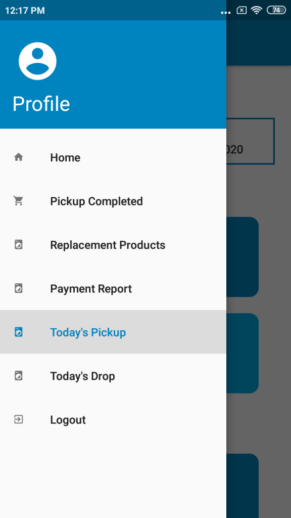 Doordrop delivery boy app