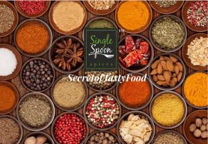 single spoon spice website home page