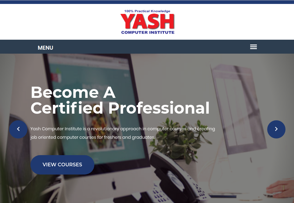 Yash_computer_institute_website